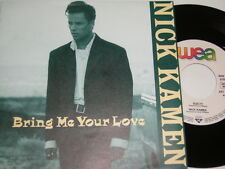 "7"" - Nick sono arrivati Bring Me Your Love & Guilty-MINT 1989 # 4307"