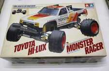 TAMIYA 58086: TOYOTA HI-LUX MONSTER RACER scale 1/10 very rare Vintage 1990