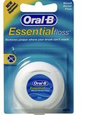 Oral B Essential Floss Fil Dentaire 50m Neuf Emballage Origine Dents Hygiene New