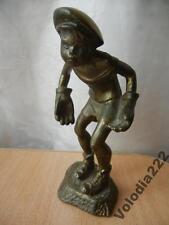ORIGINAL OLD BRONZE STATUETTE FOOTBALL GOALKEEPER USSR Soviet
