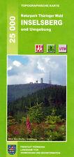 "Wanderkarte ""Große Inselsberg und Umgebung"" im Naturpark Thüringer Wald"