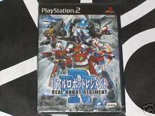 Playstation 2 PS2 Import New Game Real Robot Regiment Region Locked
