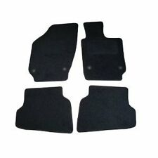 VW Polo Tailored Car Mats (2009 onwards Round Clips) -  Black