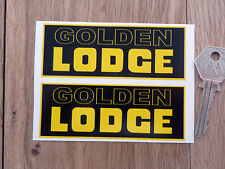 LODGE Goldener stil sticker Zündkerze Sunbeam Bentley