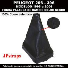 PEUGEOT 306    FUNDA PALANCA DE CAMBIO 100% PIEL