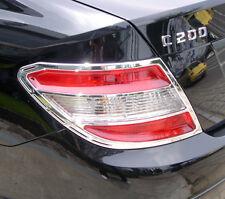 W204 07-UP 4D Rear Light Surround Chrome for Mercedes