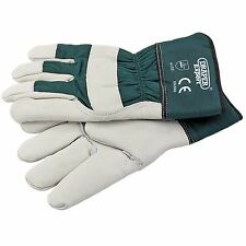Draper Expert Premium Quality Heavy Duty Leather Gardening Gloves Large