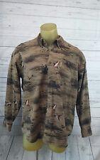 6*Columbia Mens Sz XL RiverLodge ButtonDown Hunting/Ducks  Long Slv Shirt