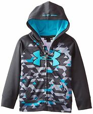 UNDER ARMOUR Boy's AF BLITZ HOODIE **ANTHRACITE/MULTI - Size 2T** NWT, w/blemish