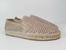 size 8.5 Steve Madden Petite Taupe Multi Slip On Espadrille Womens Shoes