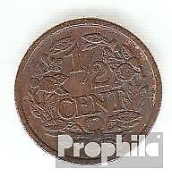 Netherlands km-number. : 138 1938 extremely fine Bronze extremely fine 1938 1/2