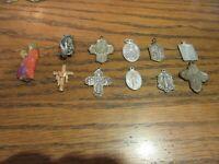 Vintage Catholic Religious  medals