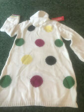 NWT Gymboree 5t 5 sweater dress merry and bright polka dots christmas holiday