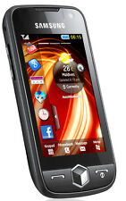 Samsung Jet Gt-S8000 Black Unlocked Quadband,5Mp Camera,Touchscreen Cell Phone