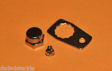 Abu Garcia 4500 5000 5500 6000 6600 series Chrome Handle Nut Set complete K01