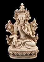 Verde Tara Soprammobile Tibetano IN Resina Budda 9.5 CM 5127