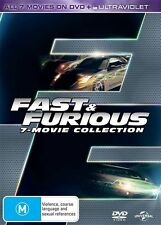 Fast & Furious 7 Movie Collection BRAND NEW SEALED R4 DVD