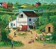 SUNSOUT JIGSAW PUZZLE FREE ENTERPRISE BOB PETTES 550 PCS AMERICANA #14059