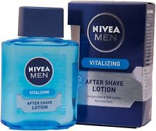 2 X Nivea Men Vitalizing After Shave Lotion - 100 ml -FREE SHIP