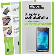 2x Samsung Galaxy Xcover 3 Protector de Pantalla protectores mate