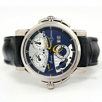 Ulysse Nardin Sonata Cathedral Dual Time Wristwatch 670-88/213 White Gold
