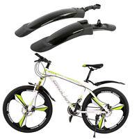 Neu Fahrrad Schutzblech Spritzschutz Bike 29 26 28 Zoll MTB Set Vorne Hinten DE