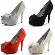 Avenue Peep Toes Synthetic Heels for Women