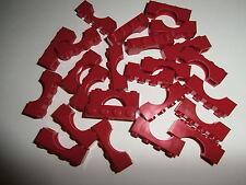 LEGO CITY / PIRATES   25 x Brückenstein 3659 in rot / bright red 1x4x1  NEU