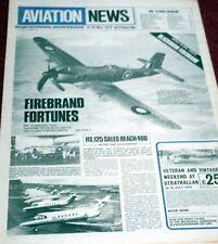 Aviation News Magazine 6.25 Blackburn Firebrand Plans,Pakistan International PIA
