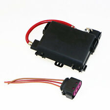 Battery Distribution Fuse Box + 3-Pin Plugs For Audi VW 1J0937617D 1J0937773