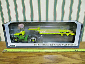 John Deere International KB-8 Truck With Lowboy Trailer By SpecCast 1/50th Scale