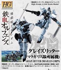 Premium P-BANDAI Gundam IBO McGillis Corps Graze Ritter HG 1/144 Model Kit USA