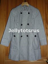 Topshop Button Knee Length Cotton Coats & Jackets for Women