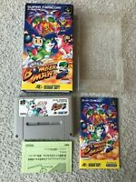 [VG++]Super BomberMan 3 Super Famicom SFC SNES NTSC-J Japan import CIB F/S test