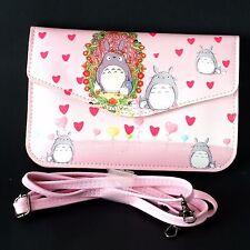 Totoro Comic Messenger Cross Body Handbag Shoulder Bag Purse Wallet