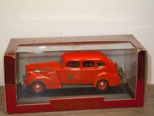 1940 Packard Super 8 Berline Services FDNY - Rextoys 1:43 in Box *35299