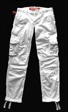 S 34 SUPERDRY Cargo Hose Jeans weiß ungetragen mit kleinem Makel