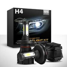 H4 9003 HB2 LED Headlight Conversion Kit 1000W Lamp Bulbs Hi/Lo beam white 6000k