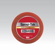 "Walker Sensi-Tak Tape (Red Tape) 1/2"" X 3 Yard Roll for Poly Units Wigs Toupee"