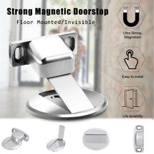 Magnetic Invisible Door Holder Stopper Doorstop Wall Mounted Door Safety Catcher