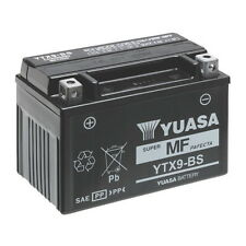 Batteria ORIGINALE Yuasa YTX9-BS + ACIDO Triumph Street Triple 675 2007/2010