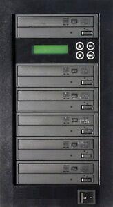 MediaStor #a57 1-5, 1 to 5 Target 16X Blu-ray 16X DVD Pioneer Burner Duplicator