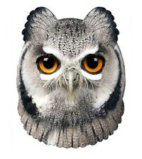 Owl Animal Single CARD 2D Party Face Mask wise bird woodland