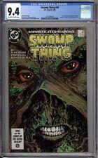 Swamp Thing 49 CGC 9.4 NM 1st Justice League Dark  Alan Moore DC Comics 1986
