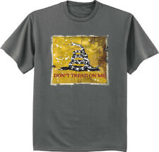 Big and Tall t-shirt Don't tread on me flag design bigmen king size tee