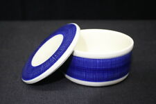 Ultra Rare Rorstrand of Sweden KOKA Blue Storage Jar / Box with Lid