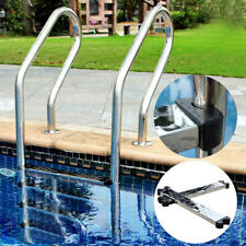 UK_ Stainless Steel Swimming Pool Ladder Step Pedal Fitting Replacement