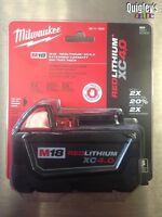 Milwaukee 48-11-1840 M18v XC REDLITHIUM Li-Ion Fuel Battery Pack 4.0Ah NEW