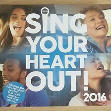 2CD NEW - SING YOUR HEART OUT 2016  Pop Music 2x CD Album Sam Smith Ora Murs Bay