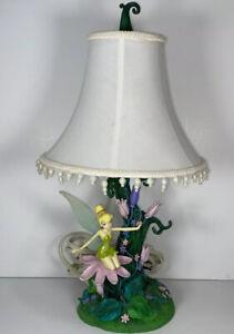 RARE 2005 Disney Tinkerbell from Peter Pan Garden Lamp Shade Night Light